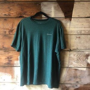 3/$25 Sale! Eddie Bauer Soft Green Tee Size XL